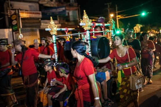 Праздник Ньепи на Бали