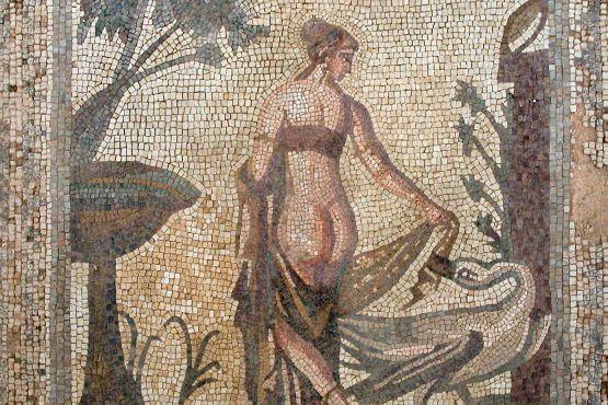 Кипр фото– Мозаика с изображением Афродиты
