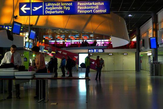 Лапландия фото– Аэропорт Рованиеми