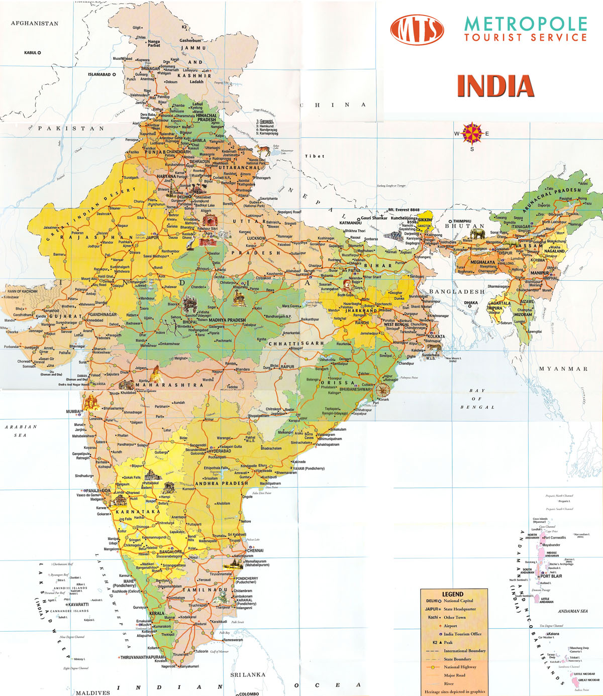 States and union territories of India  Wikipedia