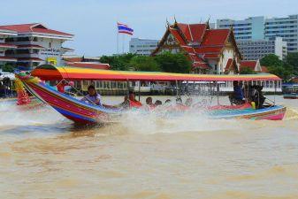 Тайланд фото – Водное такси в Бангкоке