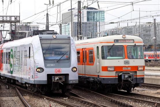 Электричка и поезд дальнего следования