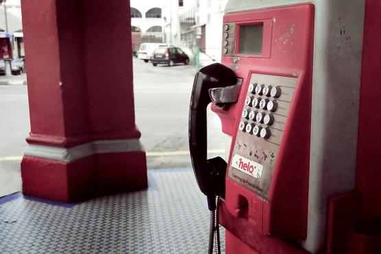 Карточный таксофон в Куала-Лумпуре