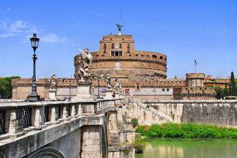 Рим фото– крепость святых ангелов