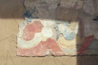 Египет фото –Реставрация древней живописи