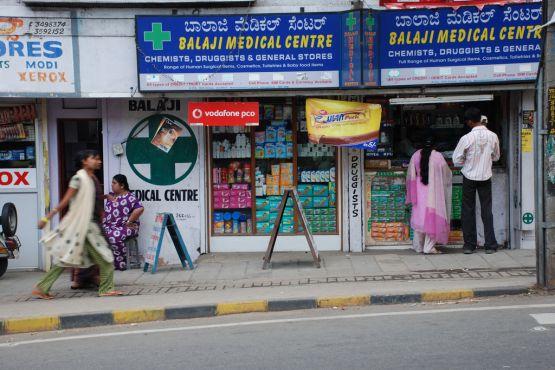 Сим-карту в Индии можно купить даже в аптеке