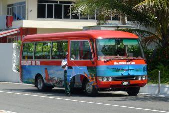 Мальдивы фото – Автобус в аэропорту Мале