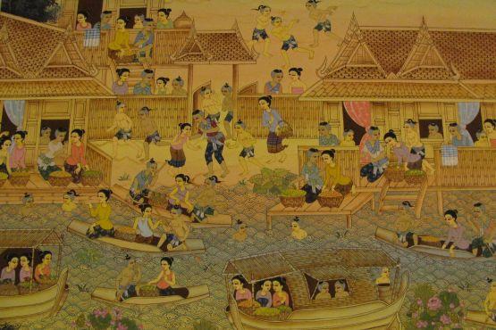Тайланд фото – Сукхотай на старинной фреске