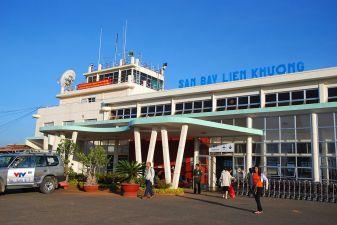 Далат фото– Аэропорт в Далате