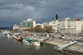 Причалы на Дунае