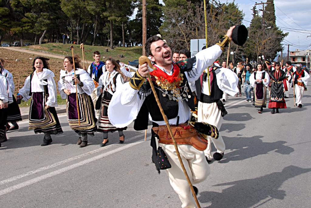 Традиционная греческая свадьба