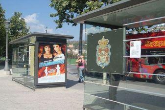 Испания фото – автобусная остановки