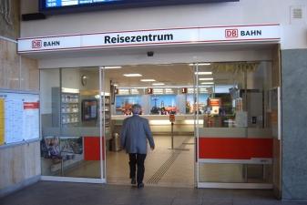 Кассы на вокзале Ингольштадта