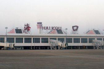 Вид на аэропорт в Хайкоу