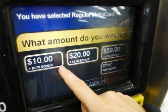 Билет на транспорт в Нью-Йорке– Pay Per–Ride Metro Card