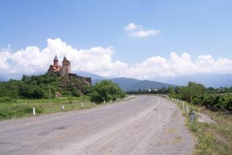 Проселочная дорога в Грузии