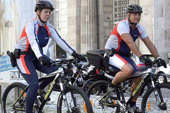 Полиция на велосипедах