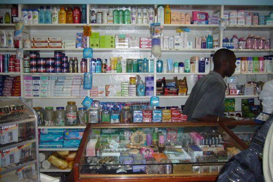 Лусака фото – Типичная аптека в Лусаке