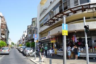 Торговая улица в Тель-Авиве