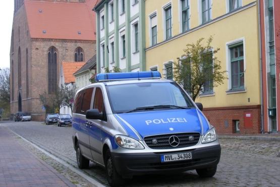Дорожная полиция в Германии