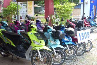Ко Чанг фото – Пункт проката скутеров