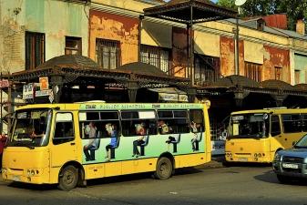 Автобусы в Тбилиси