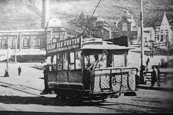Нижний Новгород фото– первый трамвай