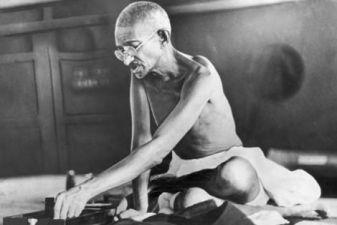 Индия фото– Мохатма Ганди