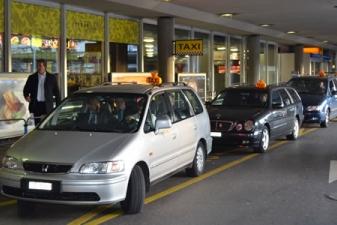 Такси в аэропорте Женевы