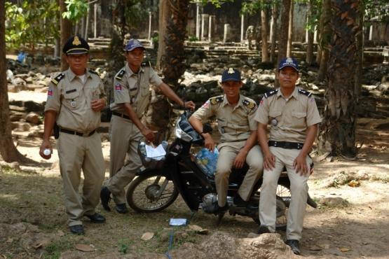 Камбоджийская полиция