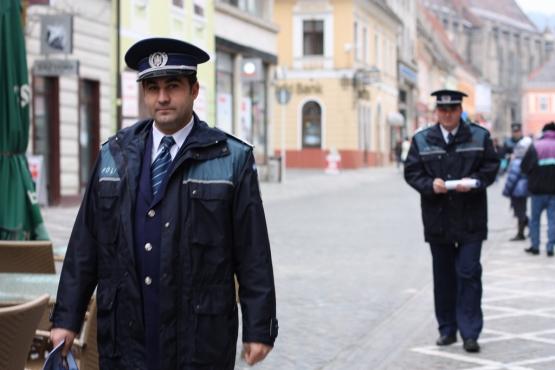 Румынские полицейские