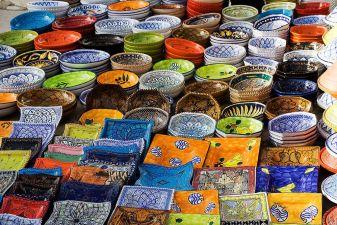 Тунис фото– Тунисская керамика
