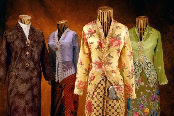 Современные вариации индонезийского женского костюма