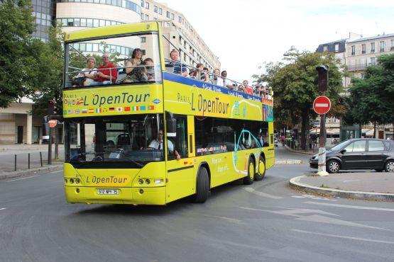 Автобусы этой компании желтого
