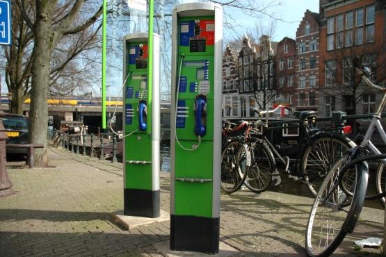 Телефон-автомат в Нидерландах