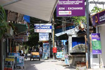 Тайланд фото – Пункт обмена валют в Тайланде