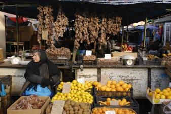 На рынке в Абхазии