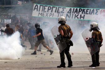 История Греции – Протесты