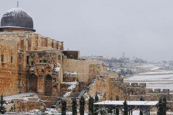 Зима в Иерусалиме