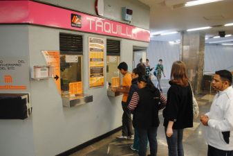 Мехико фото– кассы в метро