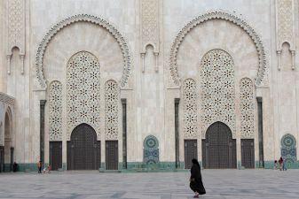 Фасад мечети Хасана II
