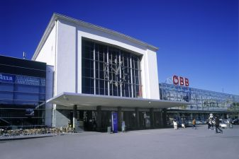 Вокзал в Граце