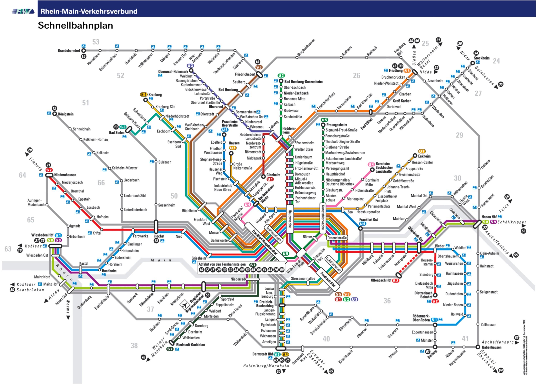 Karta Frankfurta
