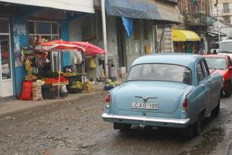 Уличная торговля в Батуми