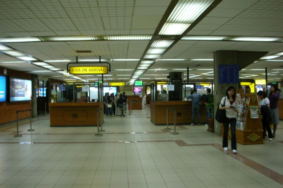 Получение визы по прибытию в аэропорту Бали