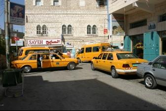 Такси в Вифлееме