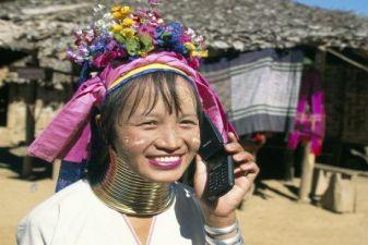 Тайланд фото – Женщина из племени карен