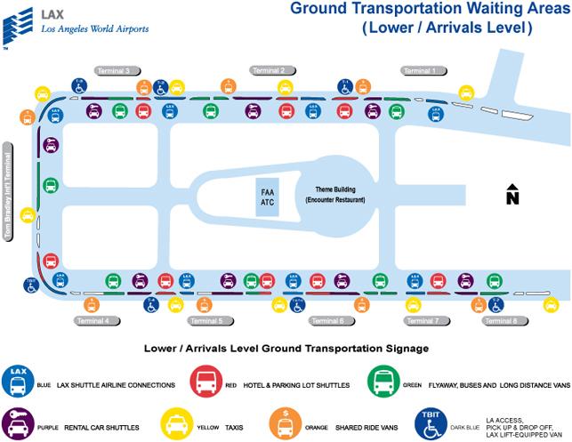 Схема автобусных остановок и