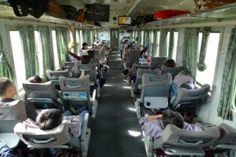 Вагон поезда во Вьетнаме