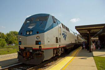 Поезда в США